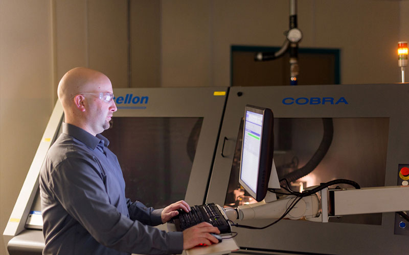 Calumet Electronics CO2 UV Dual Head Laser Drill