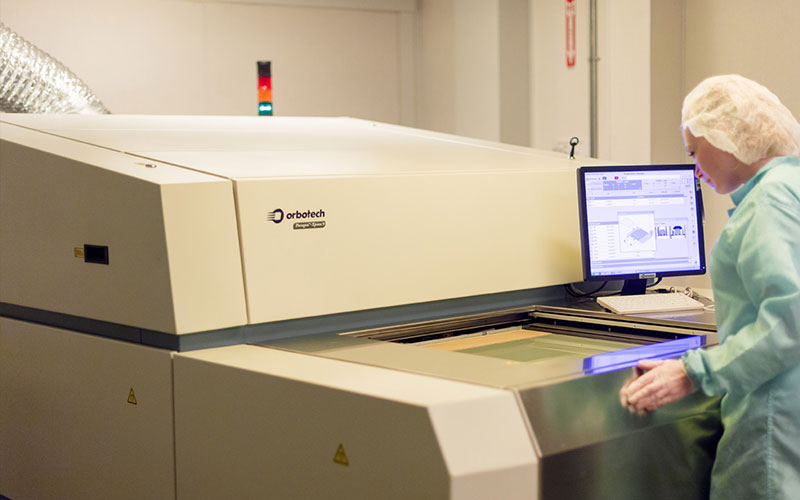 Calumet Electronics Orbotech Paragon Laser Direct Imager